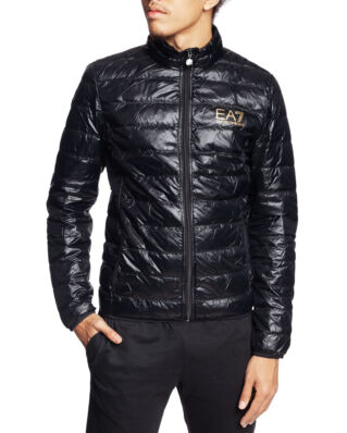 EA7 Down Jacket 8NPB01 PN29Z Black/Gold