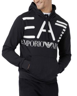 EA7 Felpa Hood 3GPM16-PJ05Z Black