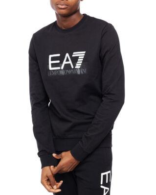 EA7 Felpa Pj05Z-6Gpm60 Black