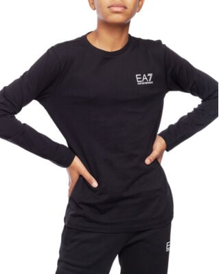 EA7 Junior T-Shirt Bj02Z-6Gbt52 Black