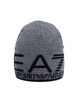 EA7 Man's Beanie 9A301-275893 Grey/Black