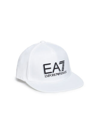 EA7 Train visibility m cap white 0P837-275916