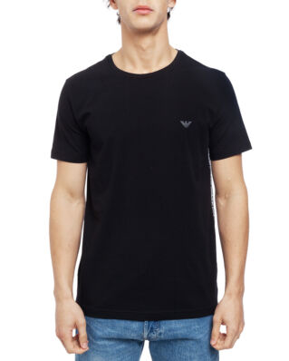 Emporio Armani Mens Knit T-Shirt 211813-9P462 Black