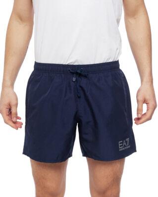 EA7 Mens Woven Boxer 902000-CC721 Blue Navy