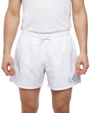 EA7 Mens Woven Boxer 902000-CC721 White