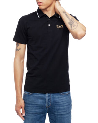EA7 Polo 3GPF51-PJM5Z Black