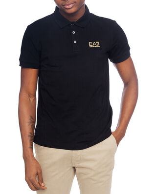 EA7 Train Core ID Polo Black/Gold