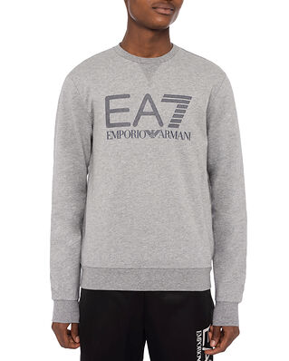 EA7 Jersey Sweatshirt Medium Grey Melange