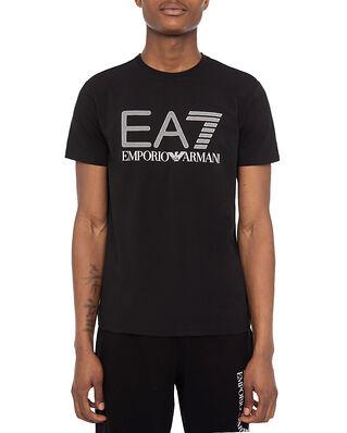 EA7 Jersey T-Shirt Large EA7 Logo Black