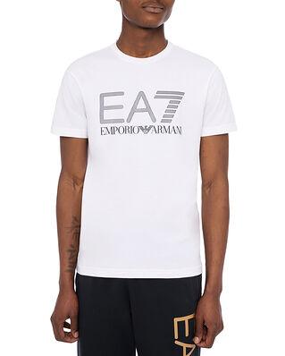 EA7 Jersey T-Shirt Large EA7 Logo White