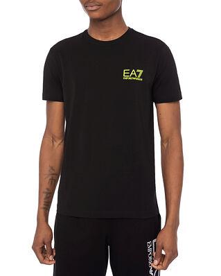 EA7 Jersey T-Shirt Small Logo Black