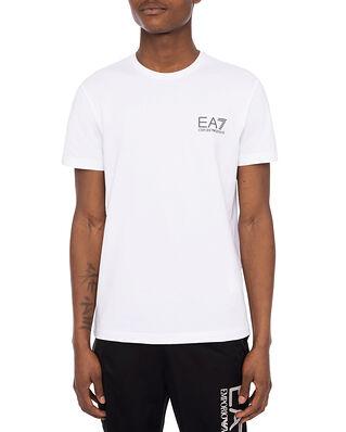 EA7 Jersey T-Shirt Small Logo White