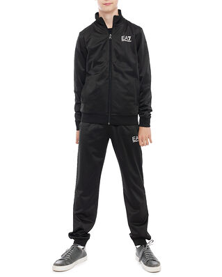 EA7 Junior Tuta Sportiva Black