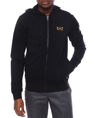 EA7 Train Core Id M Hoodie Fz Coft Black/Gold