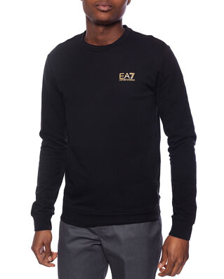 EA7 Train Core Id M T-Top Rn Coft Black/Gold