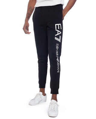EA7 Train logo series M pants CH coft super slim black/white PJ05Z-8NPPC3