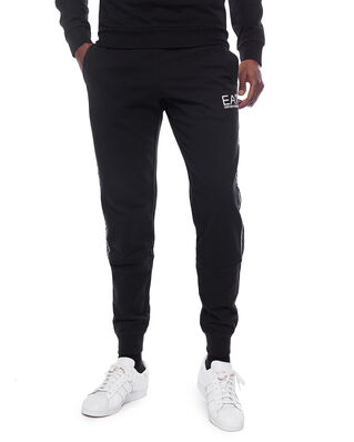 EA7 Train Logo Series M Tape Pants Ch Coft Black