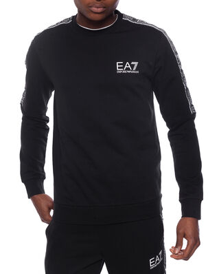 EA7 Train logo series m tape t-top rn coft black PJ05Z-3HPM23
