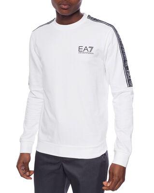 EA7 Train logo series m tape t-top rn coft white PJ05Z-3HPM23