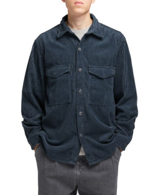 Edwin Big Shirt Ls Ebony