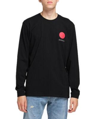 Edwin Japanese Sun Ts Ls Black