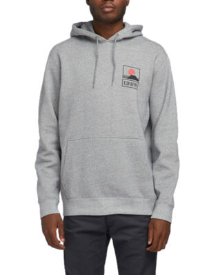 Edwin Sunset On Mt Fuji Hoodie Sweat Mouliné Grey