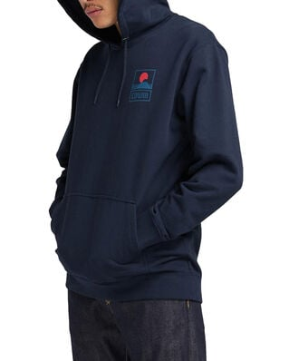 Edwin Sunset on MT Fuji Hoodie Sweat Navy Blazer