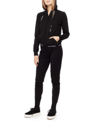 Emporio Armani Ladies Knitted Jacket + Pant Nero