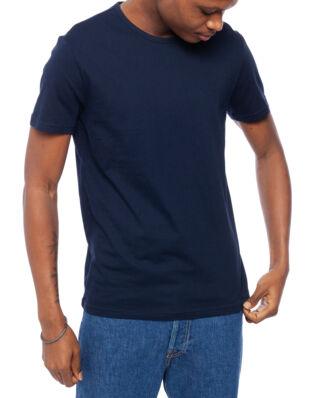 Emporio Armani Mens Knit 2-Pack T-Shirts Marine/Marine