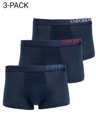 Emporio Armani Men's Knit 3-Pack CS713-111357 Marine/Marine/Marine