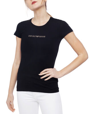Emporio Armani Basic Cotton T-shirt Black