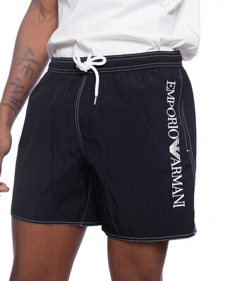 Emporio Armani Bermuda Bathing Shorts Black