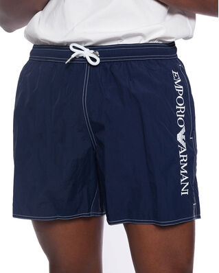 Emporio Armani Bermuda Bathing Shorts Navy Blue