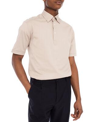 Eton Polo Shirt Beige Melange