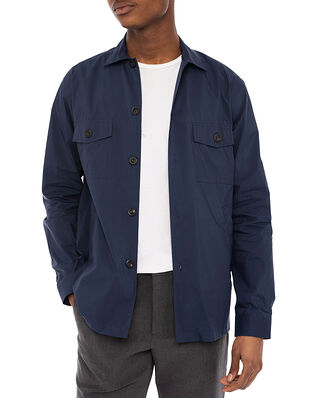 Eton Wind Overshirt Navy