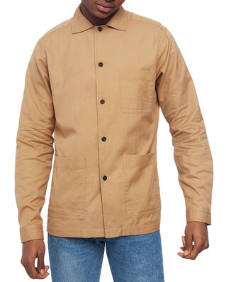 Eton 3-Pocket Overshirt Brown