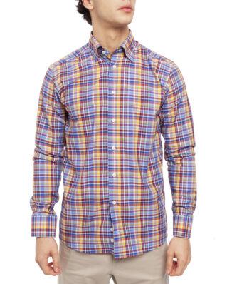 Eton Check Multi Shirt 55 Red