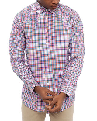 Eton Checked Twill Shirt Slim Multi