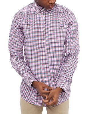 Eton Checked Twill Shirt Slim Multi