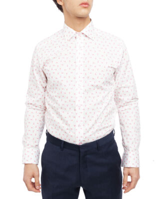 Eton Flamingo Ice cream Print Shirt Pink/Red