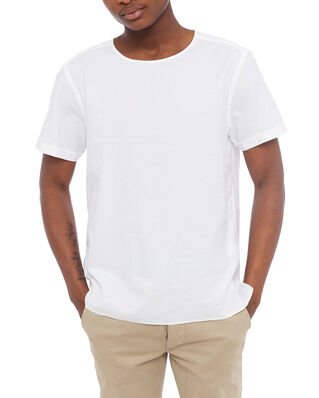 Eton Men's Fine Twill T-shirt White