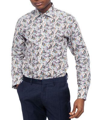 Eton Paisley Poplin Shirt Multi