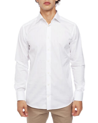 Eton Poplin Shirt Slim Fit Cut Away White