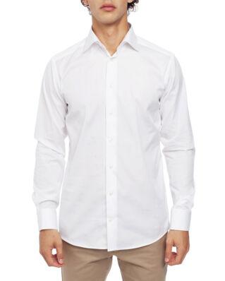 Eton Poplin Shirt Slim Fit Cut Away White