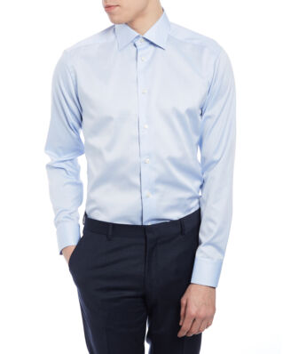 Eton Signature Twill Shirt Light Blue Slim fit