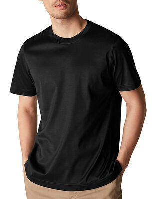 Eton Filo di Scozia T-shirt Black