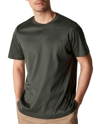 Eton Filo di Scozia T-Shirt Dark Green