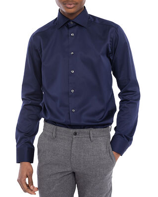 Eton Signature Twill Shirt Navy Slim fit