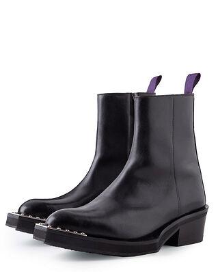 Eytys Romeo Hi Leather Black