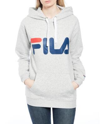 Fila Classic Logo Hood Light Grey Melange